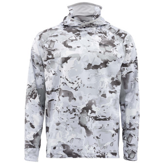 Simms Solarflex Ultracool Armor Cloud Camo Grey Image 1