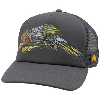 Simms Artist Series Fly Trucker Anvil Image 1