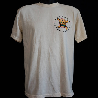Crooked Creek Holler Hula SS T Shirt Heavy Cream Image 1