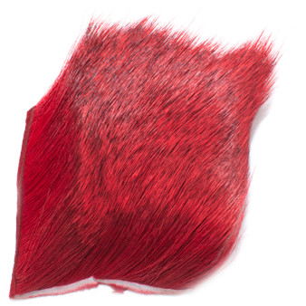 Hareline Deer Hair Red Image 1