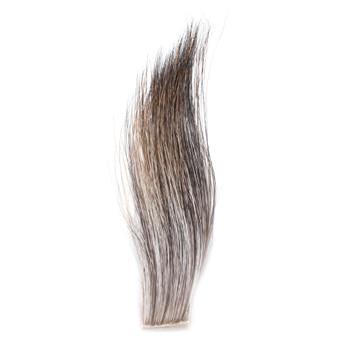 Hareline Moose Mane Gray Brown Image 1