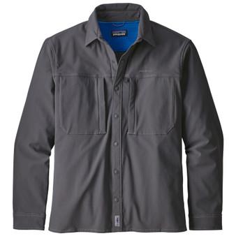 Patagonia Snap Dry LS Shirt Forge Grey Image 1
