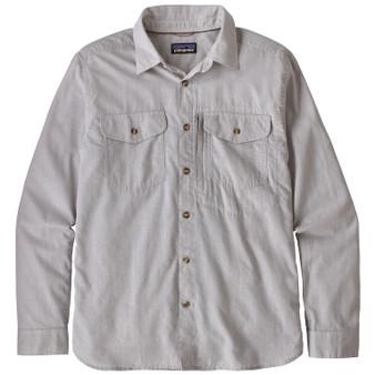 Patagonia Cayo Largo Ii LS Shirt Chambray Feather Grey Image 1