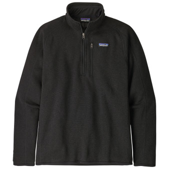 Patagonia Better Sweater 1 4 Zip Jacket Black Image 1