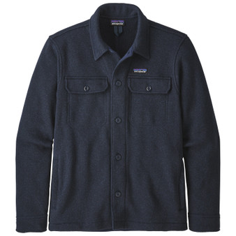 Patagonia Better Sweater Shirt Jacket New Navy Image 1