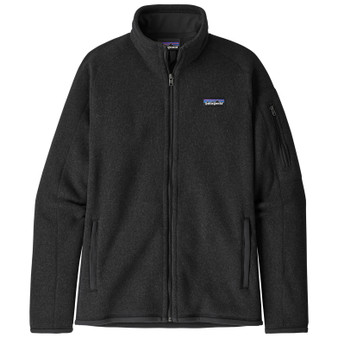 Patagonia Womens Better Sweater Jacket Black Image 1