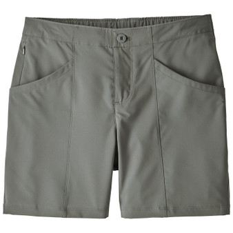 Patagonia Womens High Spy Shorts Cave Grey Image 1