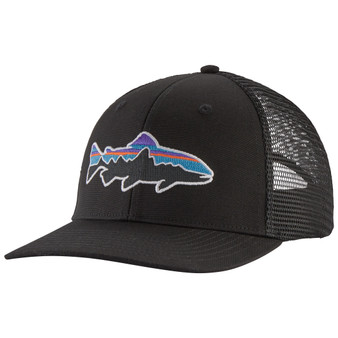 Patagonia Fitz Roy Trout Trucker Hat Black Image 1