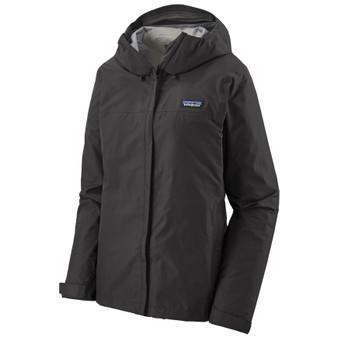 Patagonia Womens Torrentshell 3 Layer Jacket Black Image 1