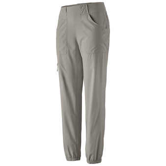 Patagonia Womens Tech Joggers Drifter Grey Image 1