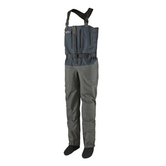 Patagonia Swiftcurrent Expedition Zip Front Wader Forge Grey Image 1