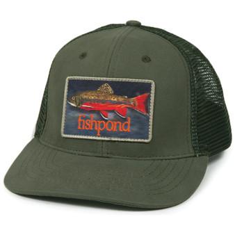 Fishpond Brookie Trucker Hat Olive Image 1