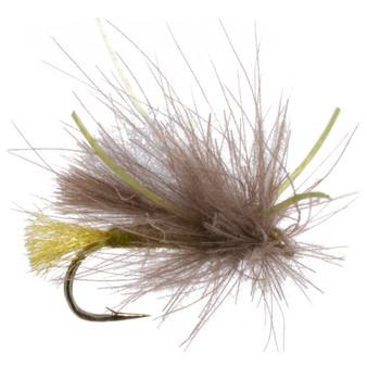 Umpqua Cdc Rubber Leg Corn Fed Caddis Olive Image 1