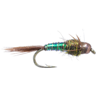 Umpqua Bead Head Lightning Bug Pearl Green Image 1