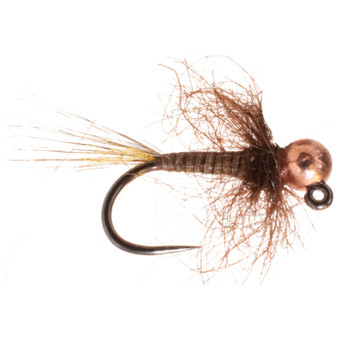 Umpqua Tungsten Bead Head Mayhem Jig Ginger Image 1