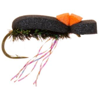 Umpqua Hi Vis Foam Beetle Black Image 1