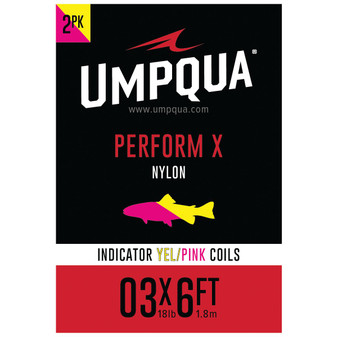 Umpqua Indicator Coil Yellow Pink Image 1