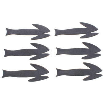 Flymen Fishing Fish Skull Frantic Tails Black Image 1