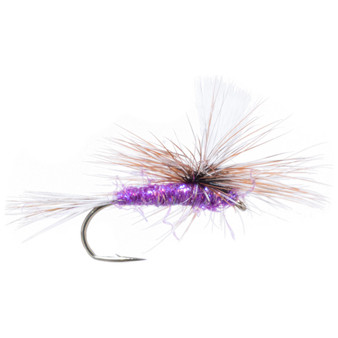 Solitude Fly Adams Parachute Sparkle Purple Image 1