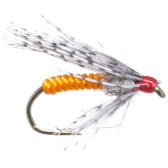 Solitude Fly Soft Hackle Orange Image 1