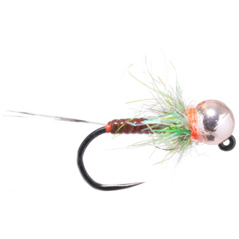 Hunter Banks Tungsten Bead Head D Rib Jig Olive Image 1