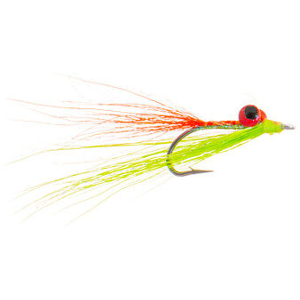 Hunter Banks Clouser Minnow Fire Tiger Image 1