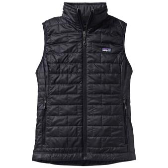 Patagonia Womens Nano Puff Vest Black Image 1