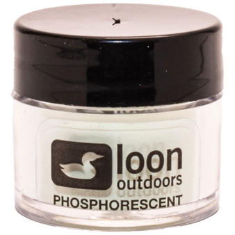 Loon Outdoors Fly Tying Powder Phosphorescent Image 1