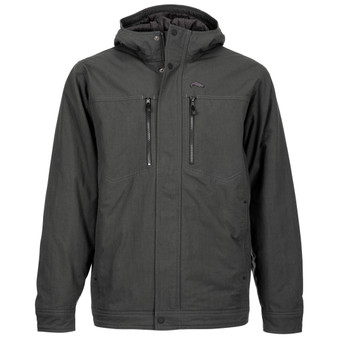 Simms Dockwear Hooded Jacket Carbon Image 1