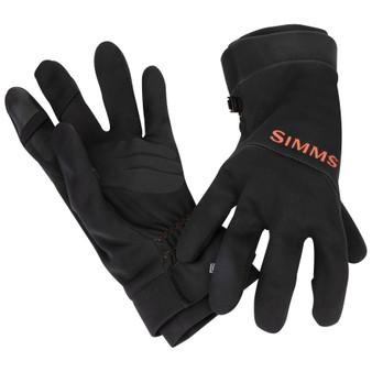 Simms Gore Tex Infinium Flex Glove Black Image 1