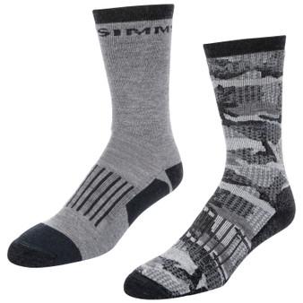 Simms Merino Midweight Hiker Sock 2 Pack Image 1