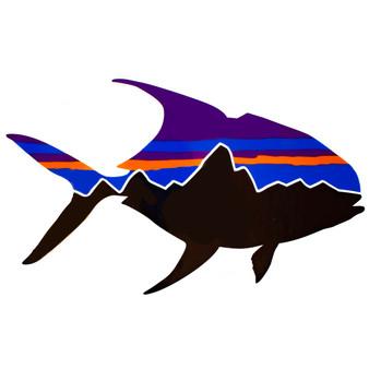 Patagonia Fitz Roy Permit Sticker Image 1