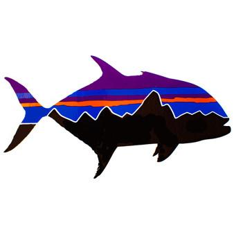 Patagonia Fitz Roy Trevally Sticker Image 1