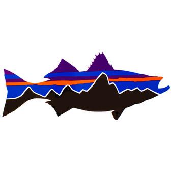 Patagonia Fitz Roy Striper Sticker Image 1