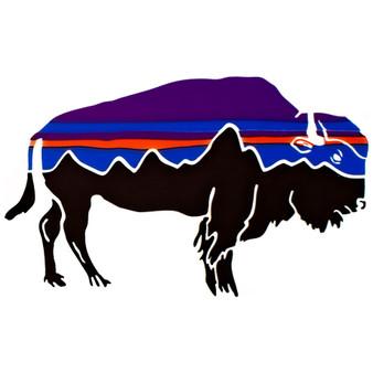 Patagonia Fitz Roy Bison Sticker Image 1