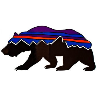 Patagonia Fitz Roy Bear Sticker Image 1
