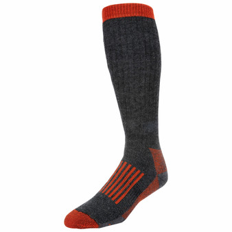 Simms Merino Thermal Otc Sock Carbon Image 1