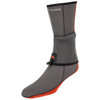 Simms Neoprene Flyweight Sock Pewter Image 1
