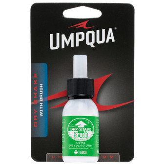 Umpqua Shimazaki Dry Shake With Brush White Image 1