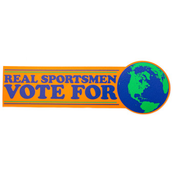 Crooked Creek Holler Vote For Earth Sticker Image 1