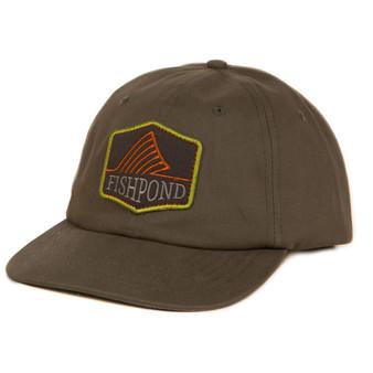 Fishpond Dorsal Fin Full Back Hat Moss Image 1