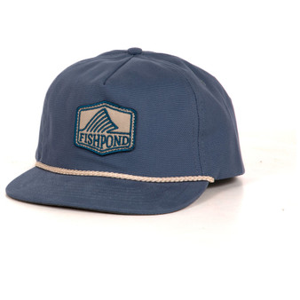 Fishpond Dorsal Fin 5 Panel Hat Canvas Blue Image 1
