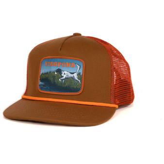 Fishpond On Point Trucker Hat Sandbar Orange Image 1