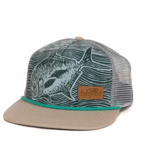Fishpond Palometa Low Profile Trucker Hat Palometa Trucker Hat Image 1