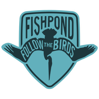 Fishpond Follow The Birds Sticker Slate Blue Image 1