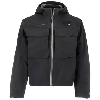 Simms Guide Classic Jacket Carbon Image 1