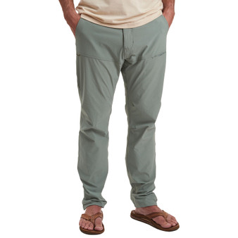 Howler Brothers Shoalwater Tech Pant Faded Olive Image 1