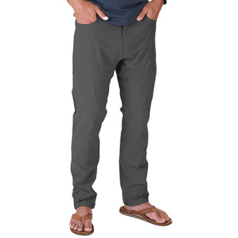 Howler Brothers Watermans Work Pant Anvil Grey Image 1