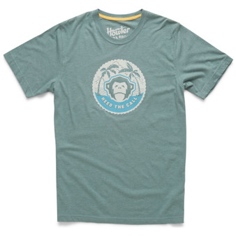 Howler Brothers Mono Medallion Select SS T Shirt Mono Medallion Faded Olive Image 1