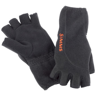 Simms Headwaters Half Finger Glove Black Image 1